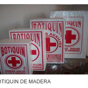 BOTIQUIN DE MADERA