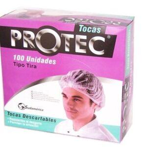 TOCAS DESCARTABLE PROTEC